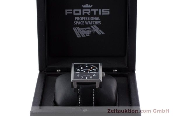 Used luxury watch Fortis Square  steel automatic Kal. ETA 2836-2 Ref. 653.10.158  | 160333 07