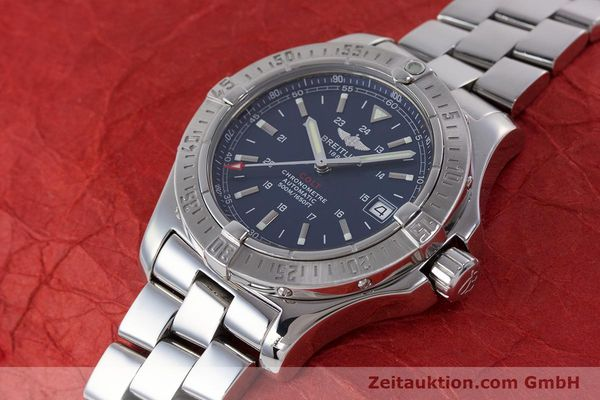 Used luxury watch Breitling Colt steel automatic Kal. B17 ETA 2824-2 Ref. A17380  | 160351 02