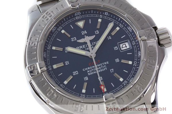 Used luxury watch Breitling Colt steel automatic Kal. B17 ETA 2824-2 Ref. A17380  | 160351 03