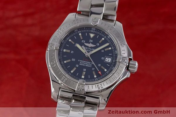 Used luxury watch Breitling Colt steel automatic Kal. B17 ETA 2824-2 Ref. A17380  | 160351 05