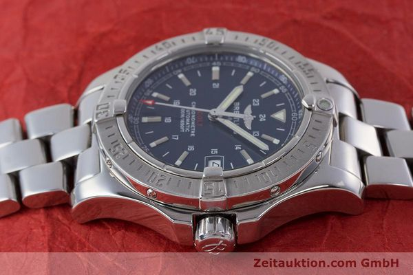 Used luxury watch Breitling Colt steel automatic Kal. B17 ETA 2824-2 Ref. A17380  | 160351 06