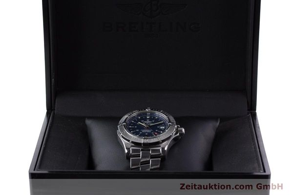 Used luxury watch Breitling Colt steel automatic Kal. B17 ETA 2824-2 Ref. A17380  | 160351 08