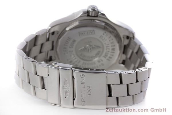 Used luxury watch Breitling Colt steel automatic Kal. B17 ETA 2824-2 Ref. A17380  | 160351 13