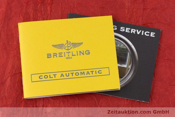 Used luxury watch Breitling Colt steel automatic Kal. B17 ETA 2824-2 Ref. A17380  | 160351 14