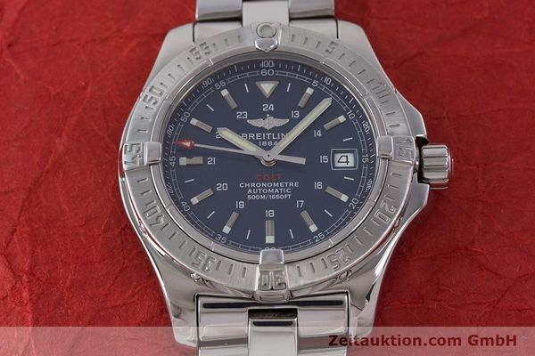 Used luxury watch Breitling Colt steel automatic Kal. B17 ETA 2824-2 Ref. A17380  | 160351 19