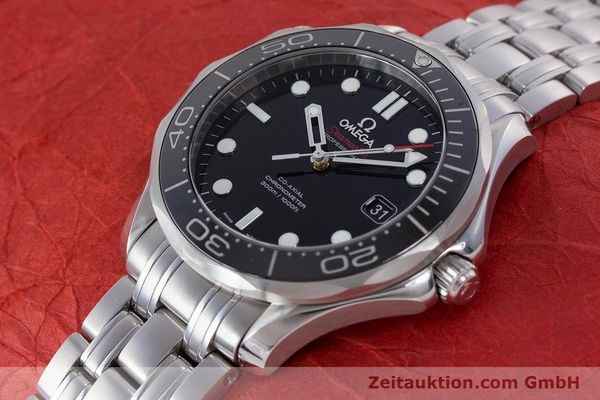 Used luxury watch Omega Seamaster steel automatic Kal. 2500 Ref. 21230412001003  | 160355 01