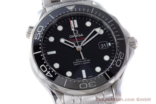 Used luxury watch Omega Seamaster steel automatic Kal. 2500 Ref. 21230412001003  | 160355 02