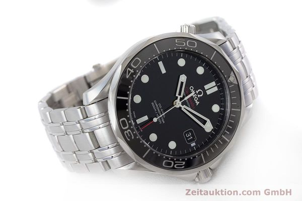 Used luxury watch Omega Seamaster steel automatic Kal. 2500 Ref. 21230412001003  | 160355 03