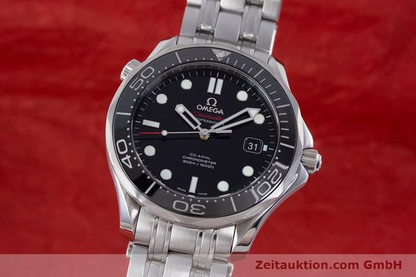 Used luxury watch Omega Seamaster steel automatic Kal. 2500 Ref. 21230412001003  | 160355 04