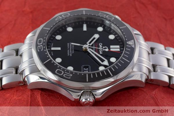 Used luxury watch Omega Seamaster steel automatic Kal. 2500 Ref. 21230412001003  | 160355 05