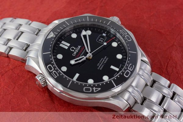 Used luxury watch Omega Seamaster steel automatic Kal. 2500 Ref. 21230412001003  | 160355 18