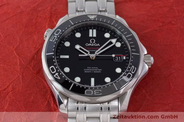 Used luxury watch Omega Seamaster steel automatic Kal. 2500 Ref. 21230412001003  | 160355 19