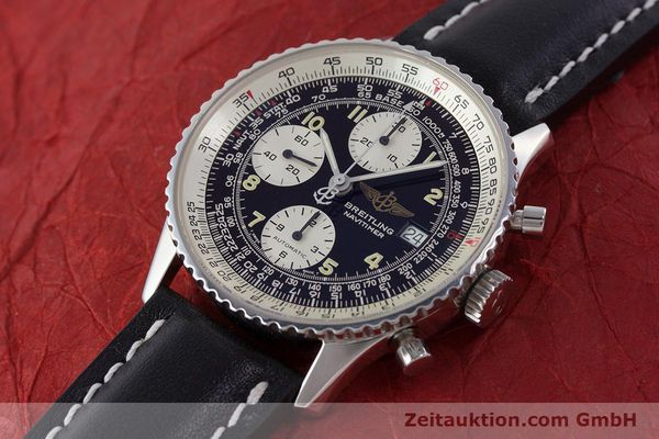 Used luxury watch Breitling Navitimer chronograph steel automatic Kal. B13 ETA 7750 Ref. A13022  | 160367 01
