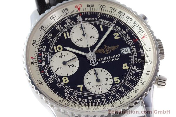 Used luxury watch Breitling Navitimer chronograph steel automatic Kal. B13 ETA 7750 Ref. A13022  | 160367 02