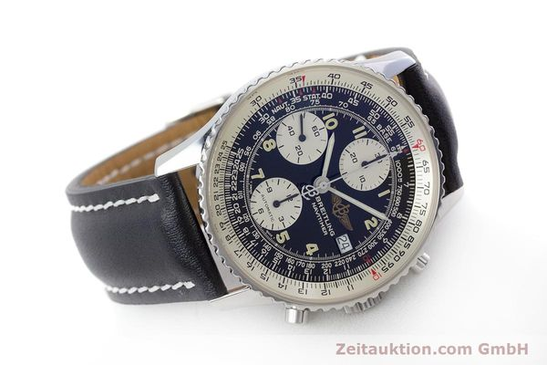 Used luxury watch Breitling Navitimer chronograph steel automatic Kal. B13 ETA 7750 Ref. A13022  | 160367 03