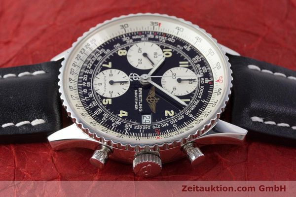 Used luxury watch Breitling Navitimer chronograph steel automatic Kal. B13 ETA 7750 Ref. A13022  | 160367 05