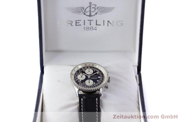 Used luxury watch Breitling Navitimer chronograph steel automatic Kal. B13 ETA 7750 Ref. A13022  | 160367 07