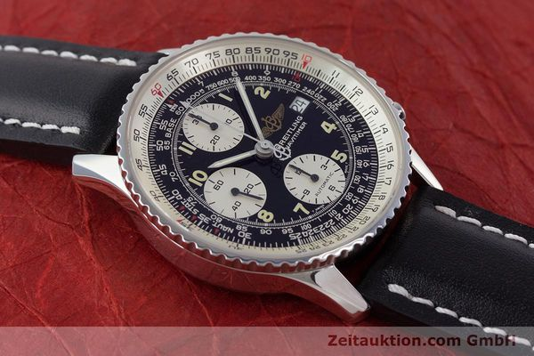 Used luxury watch Breitling Navitimer chronograph steel automatic Kal. B13 ETA 7750 Ref. A13022  | 160367 14