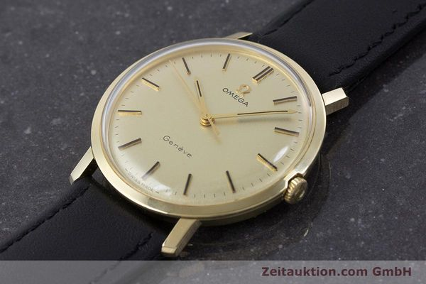 Used luxury watch Omega * 14 ct yellow gold manual winding Kal. 601 Ref. 1211 VINTAGE  | 160371 01