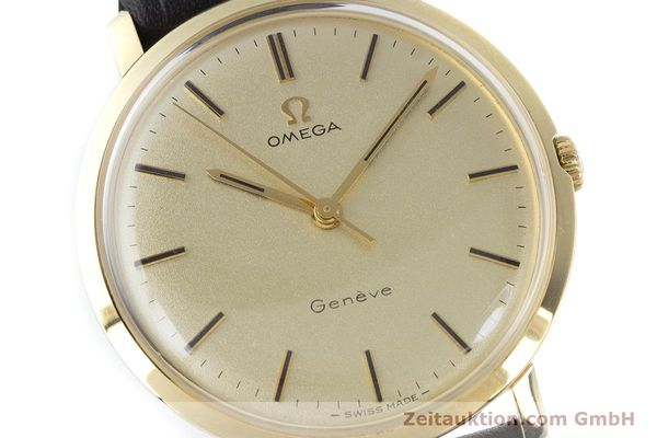 Used luxury watch Omega * 14 ct yellow gold manual winding Kal. 601 Ref. 1211 VINTAGE  | 160371 02