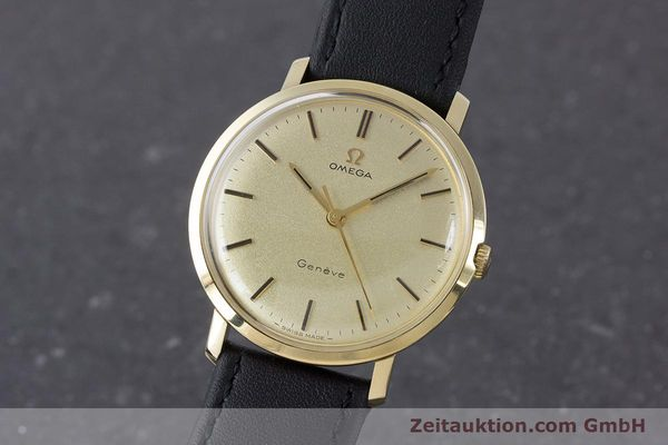 Used luxury watch Omega * 14 ct yellow gold manual winding Kal. 601 Ref. 1211 VINTAGE  | 160371 04
