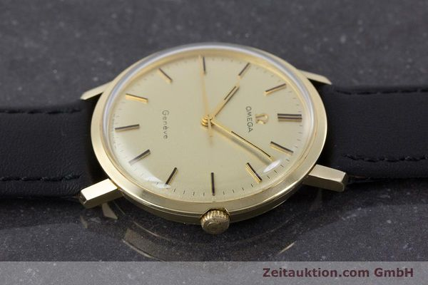 Used luxury watch Omega * 14 ct yellow gold manual winding Kal. 601 Ref. 1211 VINTAGE  | 160371 05