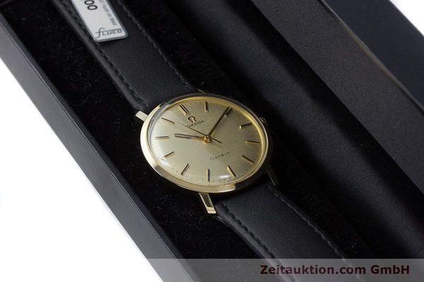 Used luxury watch Omega * 14 ct yellow gold manual winding Kal. 601 Ref. 1211 VINTAGE  | 160371 07
