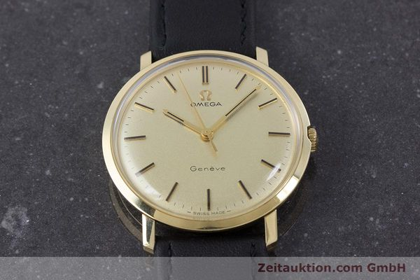 Used luxury watch Omega * 14 ct yellow gold manual winding Kal. 601 Ref. 1211 VINTAGE  | 160371 14