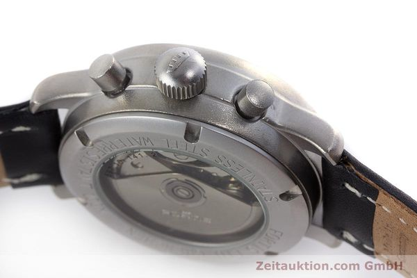 Used luxury watch Fortis Flieger Chronograph chronograph steel automatic Kal. ETA 7750 Ref. 597.10.141.2  | 160376 08