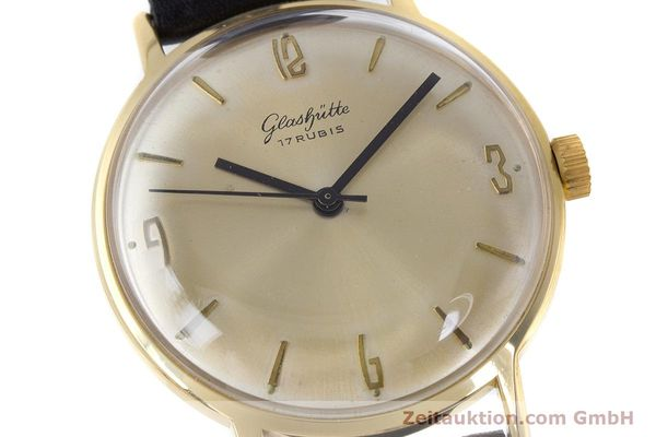 Used luxury watch Glashütte * gold-plated manual winding Kal. 69.1  | 160385 02