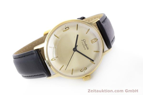 Used luxury watch Glashütte * gold-plated manual winding Kal. 69.1  | 160385 03