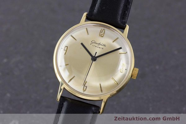 Used luxury watch Glashütte * gold-plated manual winding Kal. 69.1  | 160385 04