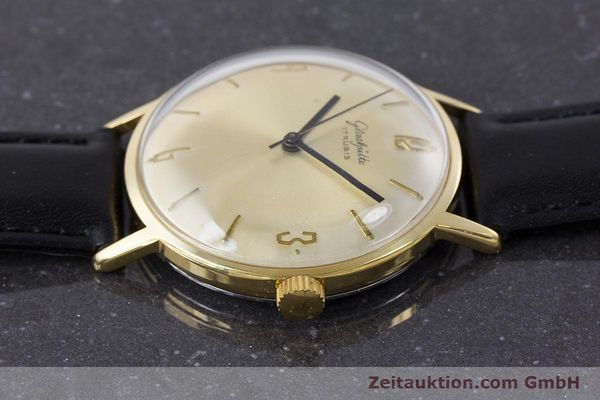 Used luxury watch Glashütte * gold-plated manual winding Kal. 69.1  | 160385 05