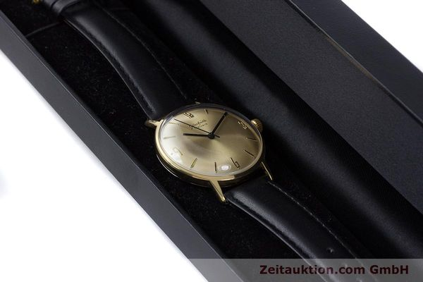 Used luxury watch Glashütte * gold-plated manual winding Kal. 69.1  | 160385 07