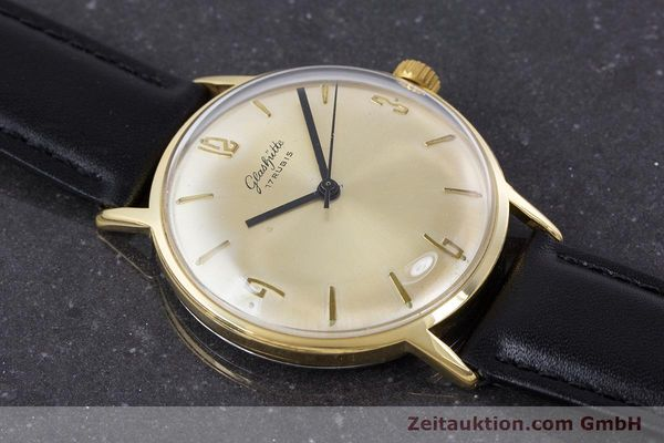 Used luxury watch Glashütte * gold-plated manual winding Kal. 69.1  | 160385 12