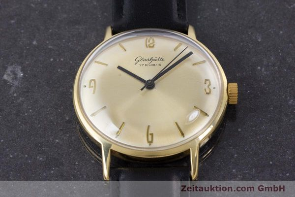 Used luxury watch Glashütte * gold-plated manual winding Kal. 69.1  | 160385 13