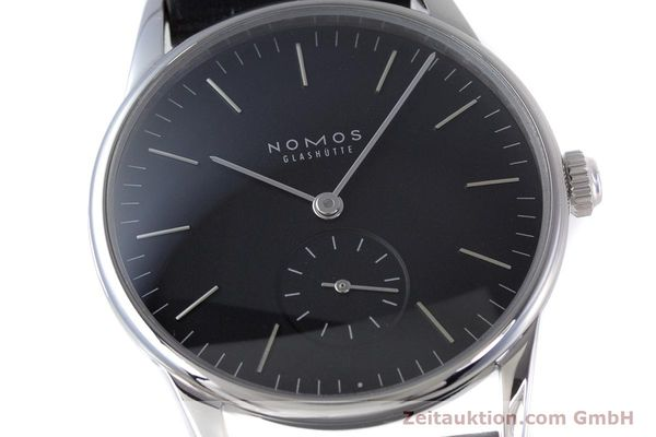 Used luxury watch Nomos Orion steel manual winding Kal. Alpha  | 160386 02