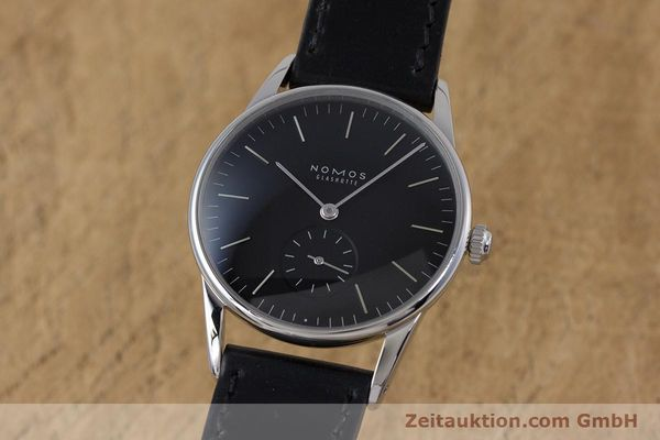 Used luxury watch Nomos Orion steel manual winding Kal. Alpha  | 160386 04
