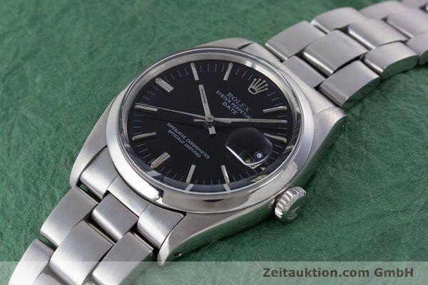 Used luxury watch Rolex Date steel automatic Kal. 1560 Ref. 1500 VINTAGE  | 160388 01