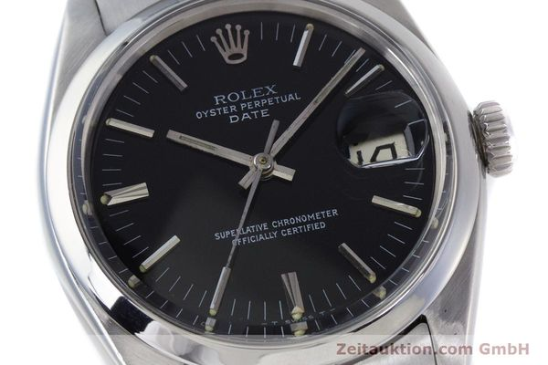 Used luxury watch Rolex Date steel automatic Kal. 1560 Ref. 1500 VINTAGE  | 160388 02