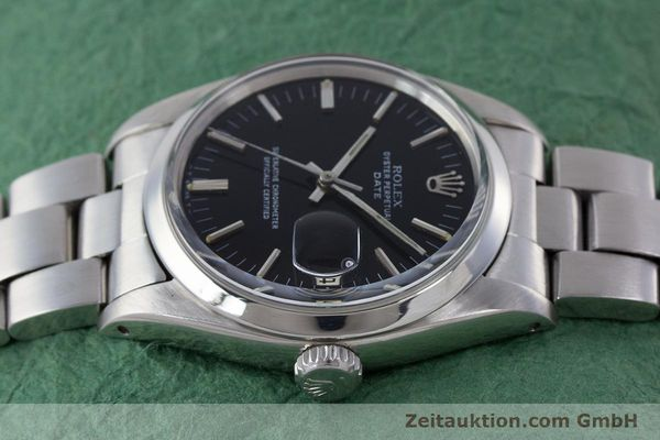 Used luxury watch Rolex Date steel automatic Kal. 1560 Ref. 1500 VINTAGE  | 160388 05