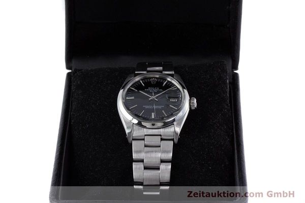 Used luxury watch Rolex Date steel automatic Kal. 1560 Ref. 1500 VINTAGE  | 160388 07