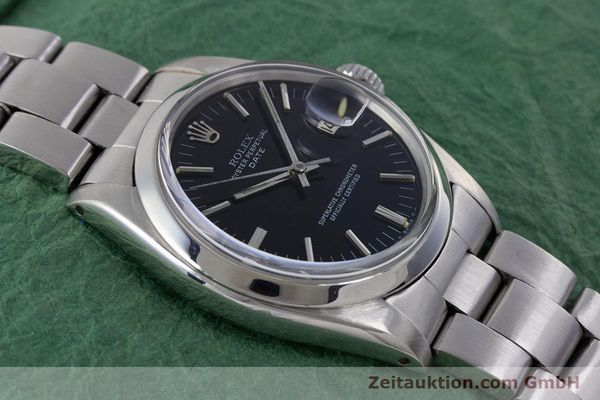Used luxury watch Rolex Date steel automatic Kal. 1560 Ref. 1500 VINTAGE  | 160388 15