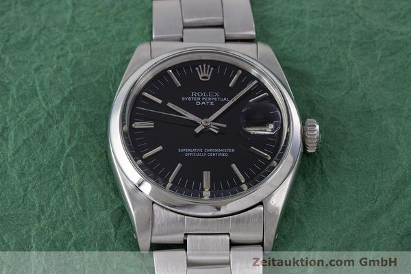 Used luxury watch Rolex Date steel automatic Kal. 1560 Ref. 1500 VINTAGE  | 160388 16