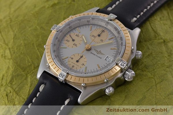 Used luxury watch Breitling Chronomat chronograph steel / gold automatic Kal. ETA 7750 Ref. 81950  | 160391 01