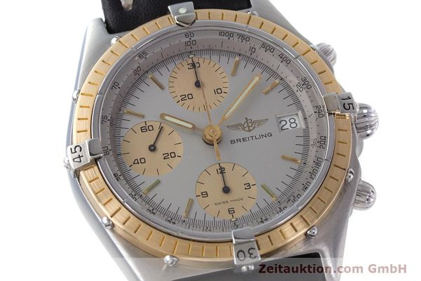 Used luxury watch Breitling Chronomat chronograph steel / gold automatic Kal. ETA 7750 Ref. 81950  | 160391 02
