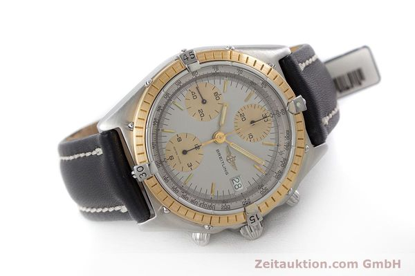 Used luxury watch Breitling Chronomat chronograph steel / gold automatic Kal. ETA 7750 Ref. 81950  | 160391 03