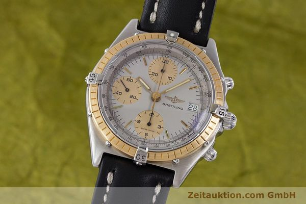 Used luxury watch Breitling Chronomat chronograph steel / gold automatic Kal. ETA 7750 Ref. 81950  | 160391 04