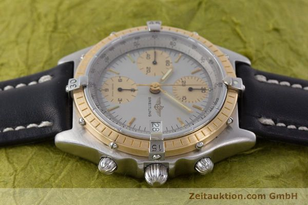 Used luxury watch Breitling Chronomat chronograph steel / gold automatic Kal. ETA 7750 Ref. 81950  | 160391 05