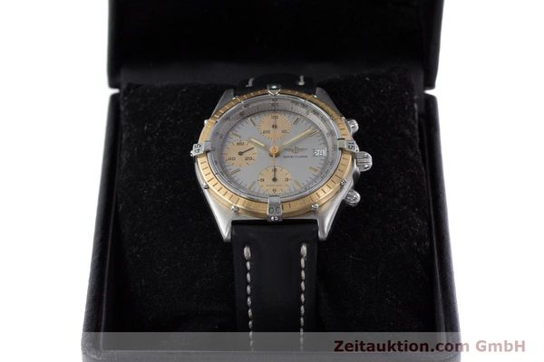 Used luxury watch Breitling Chronomat chronograph steel / gold automatic Kal. ETA 7750 Ref. 81950  | 160391 07